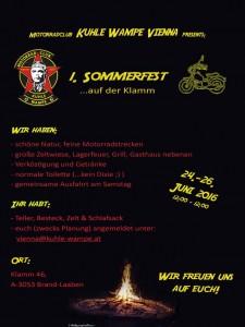 1.Sommerfest KWV_Flyer