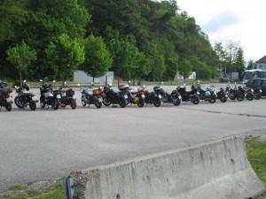 Mauthausen 2016_Mopeds